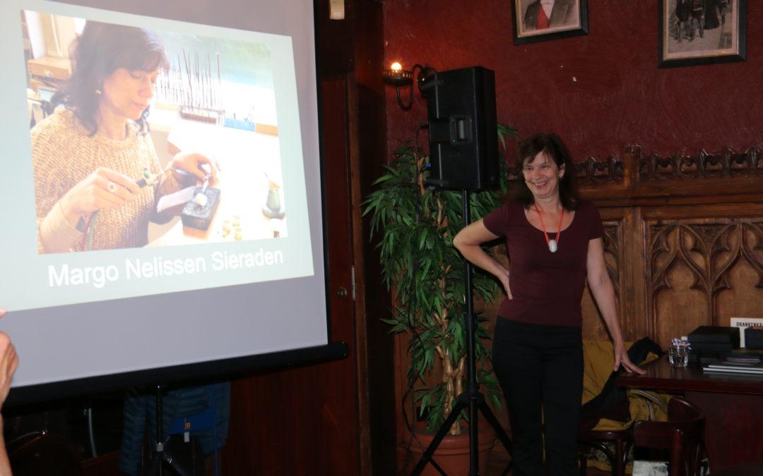 Margo Nelissen Cultureel Cafe 9 oktober