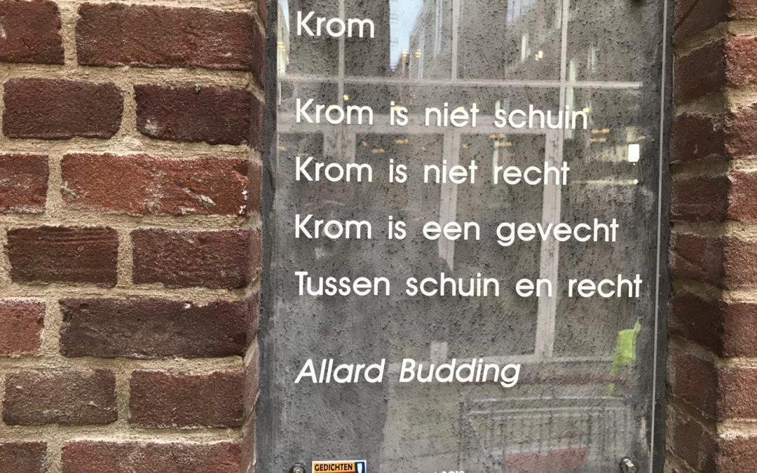 Gedicht Budding onthuld