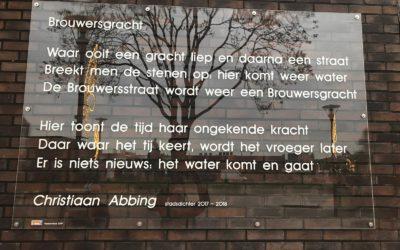 Verrassing voor Christiaan Abbing op het Thoomesplein