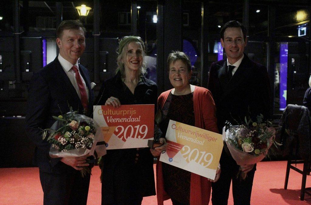 De winnaars: Suzanne Visscher en WET!