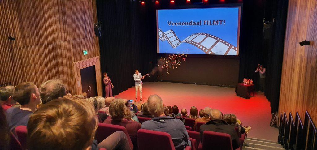 Opening door Wethouder van VeenendaalFilmt!